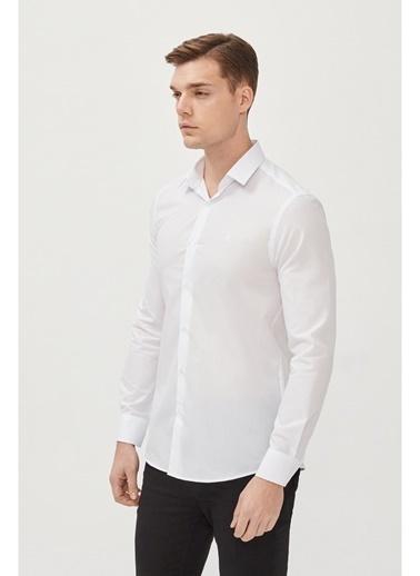 Avva Erkek  Oxford Gömlek E002002 Beyaz